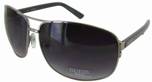15ca00ed76 Guess GU6325 Aviator Style Mens Sunglasses
