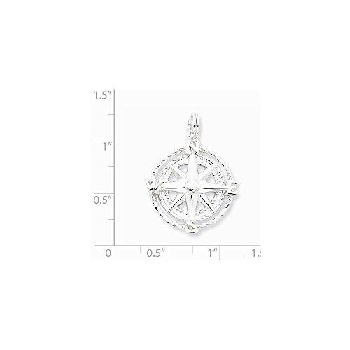 PriceRock Compas-Argent 925/1000