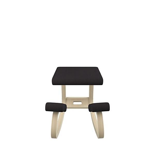 Varier Variable Chaise, Tissu, Noir, 72 x 52 x 51 cm