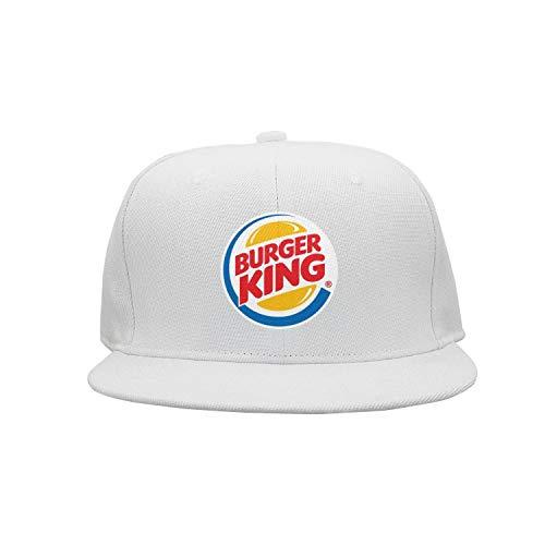 UONDLWHER Adjustable Unisex Burger-King-Logo- Cap Stylish Visor Hats