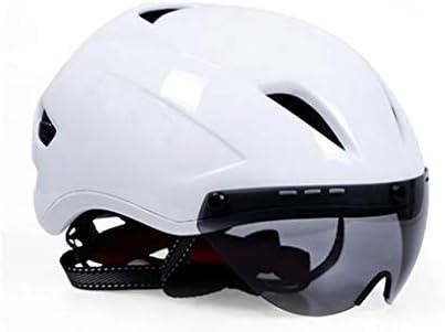 FH Casco Magnético para Montar Lentes, Equipo De Bicicleta Unisex para Bicicletas, Casco para Bicicleta De Montaña (Color : Blanco): Amazon.es: Deportes y aire libre