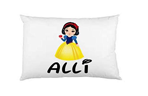 Snow white pillow case, personalized pillow case, birthday gift, Children's Pillow Case, Kid's Bedroom, Toddler Room, Baby Room, girl's bedroom