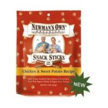 Newmans Own Organic Snack Stix Chkn&Swt Pto