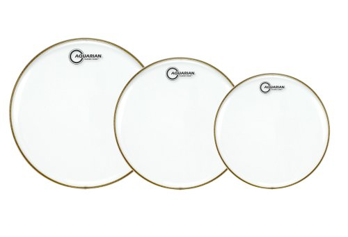 Aquarian Drumheads CC-A Classic ClearTom Pack 10, 12, 14-inch