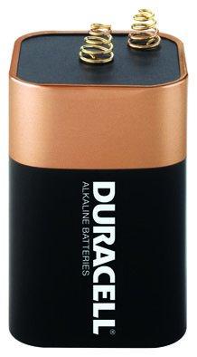 Duracell Coppertop Battery - 6 Volt, Single-Pk., Model# MN908