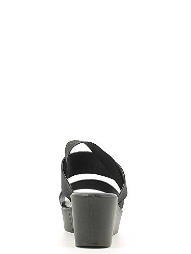 GR†NLAND Mujer sandalias y zapatos abiertos plateado