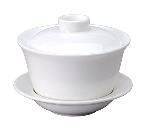 Vertex China RB-T3 Rubicon Tea Cup with Saucer and Lid, 3-3/4