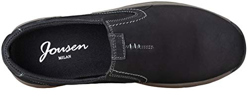 Pictures of JOUSEN Men's Slip On Loafers Jungle Black 10 M US 4