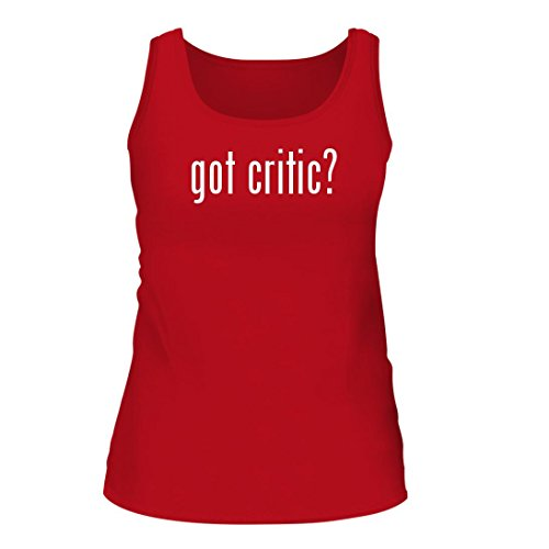 Got Critic    A Nice Womens Tank Top  Red  Large