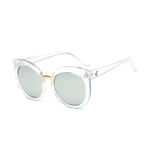 de Classic Cat Winwintom marca diseñador H Color elegante Vintage sol la Ojo Gafas Espejo de retro fHv5qH
