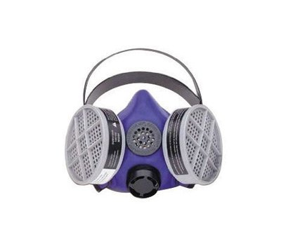 Honeywell Large Silicone Blue 1® Half Mask S-series Respirator With Speaking ()