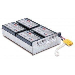 Replacement battery for APC Smart UPS 1500VA RM 2U SUA1500R2X180 - RBC24 by UPS Battery Center