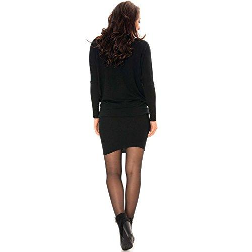 Line Kleid Wear Damen Miss Schwarz Schwarz 5qZaS