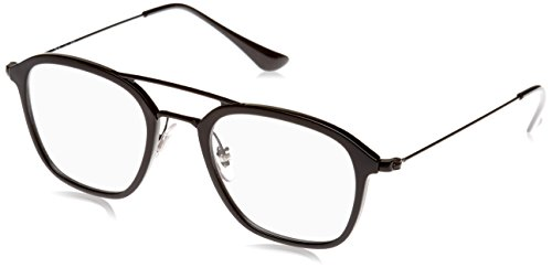 Ray-Ban Men's 0RX7098 Black One Size (Rayban Goggle)