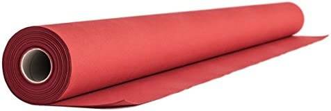 88401 1 ROLL TABLE RUNNER 24 M x 40 cm Red Airlaid Tablecloth