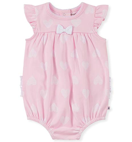absorba Baby Girls Romper, Pink, 3-6 Months