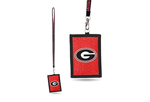 NCAA Georgia Bulldogs Beaded Lanyard I.D. ()