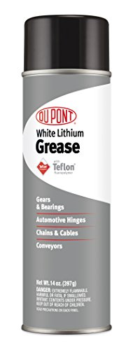 DuPont Teflon White Lithium Aerosol Grease, 14-Ounce