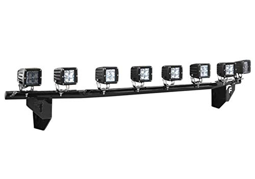 (N-FAB T0730LD Gloss Black Light Bar; Multi-Mount System (MMS) Toyota Tundra  07-13)