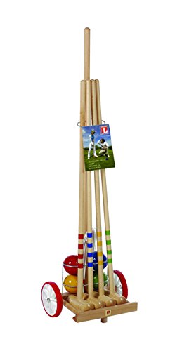 Croquet Set with Cart by Londero