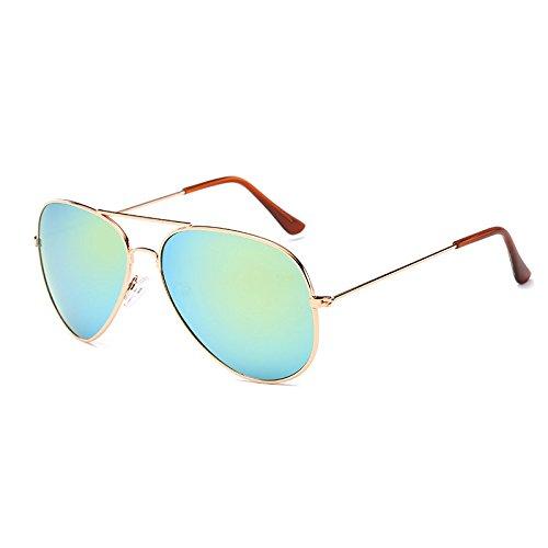 Hombre Gafas sol Mujer de Conductor ZHANGYUSEN sol masculino de amarillo femenino de de cristal conducir gafas Gafas noche gafas de bronce Visión verde piloto de z11vFwaq