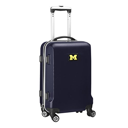 ncaa-michigan-wolverines-carry-on-hardcase-spinner-navy