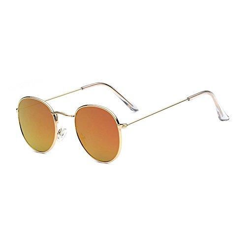 MN3444447BB Ricos Sunglasses MN C4 Hombre BB3444447C5 Gafas polarizadas Redondo Clásico TL Mujer de Nuevo Sol Colores Metal ZqwdaEx