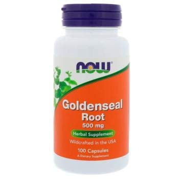 Now Foods, Goldenseal Root 500 mg 100 Capsules