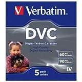 Verbatim Mini-DV Digital Video Cassette 5-er Pack