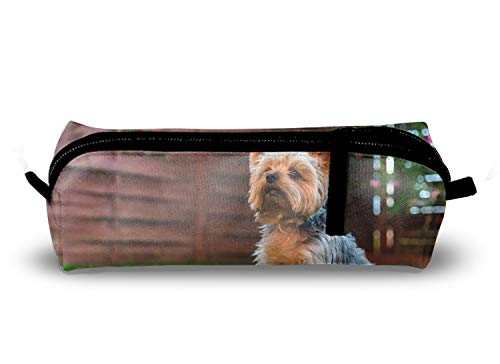Junior's Silky Terrier Charm School Pencil Pouch Case for School Student