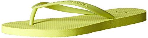 Flip Armani Classic Womens Flip Classic Flop Exchange Flop Armani A Ax Lime Exchange X z1qff0F