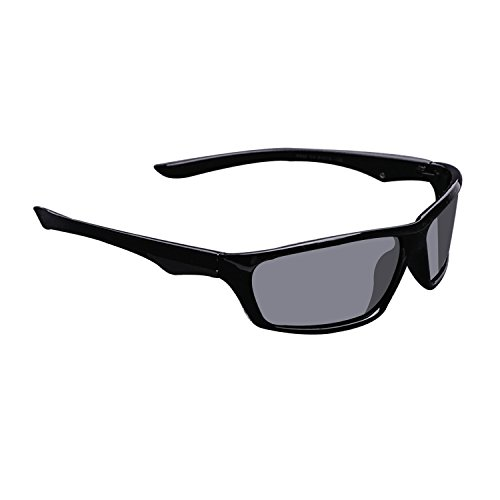 Goggles 1 Sunglasses Protection Black Outdoor 100 UV400 Polarized Sport Lens Gray ADEWU Frame A OZ0nqFwCWW
