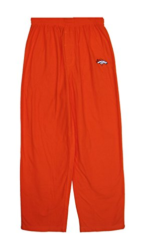 Denver Broncos Youth X-Large 18/20 Fleece Sleep Pajama Pants - Orange (Pajamas Denver Youth Broncos)