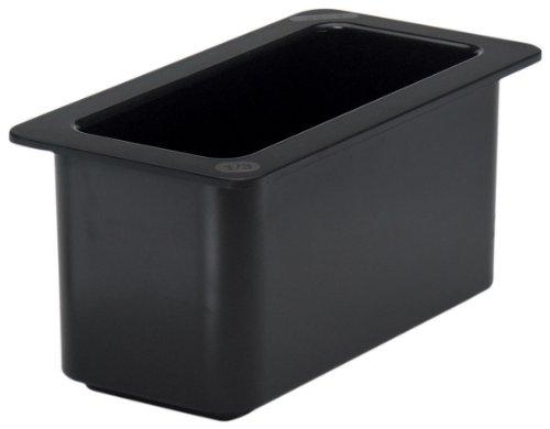 Cambro 36CF110 ColdFest Black 1/3 Size 6