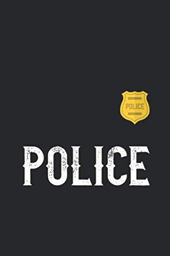 Cops Halloween Costumes - Police: Trendy Halloween Costume Notebook, Trendy