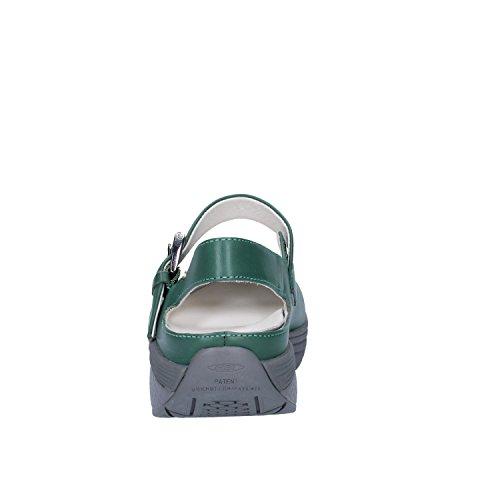 MBT 37 Vert Sandales EU Cuir Femme wxwHqfT
