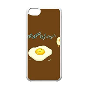 Pharrel Funny Egg no IPhone 5C Cases for Girls, Iphone 5c Cases Fashionable [White]