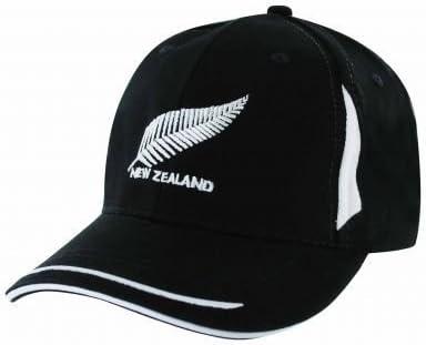 Gorra de béisbol de deporte Nueva Zelanda (ajustable): Amazon.es ...