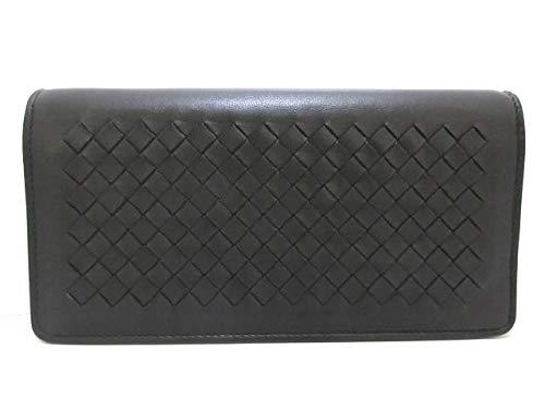 (ボッテガヴェネタ)BOTTEGA VENETA 財布 イントレチャート 黒 S01682536S 【中古】   B07QW1RNB6