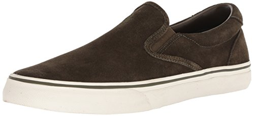 Polo Ralph Lauren Men's Thompson Sneaker, deep Olive, 10.5 D US