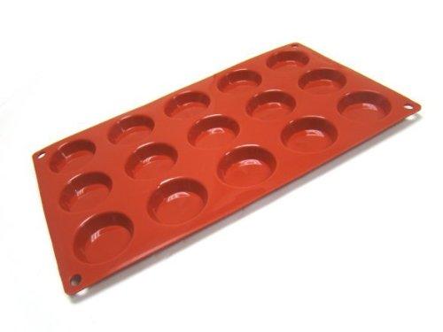 GastroFlex Silicone Nonstick Round Tart Mold by Gobel