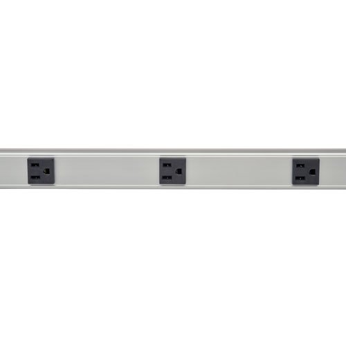 Tripp Lite 8 Outlet Surge Protector Power Strip, 6ft Cord, 48 in., Metal, (SS480806) by Tripp Lite