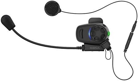 Dual Pack Sena SMH5D-UNIV Kit de auriculares e intercomunicador Bluetooth para motos y scooters con micr/ófono universal paquete doble