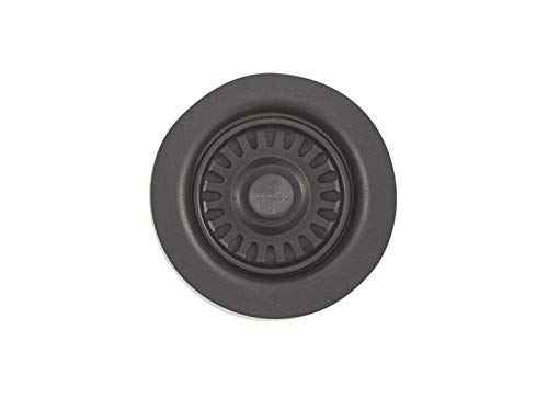 Blanco BL441095 Silgranit II Coordinated Sink Waste Disposer Stopper and Strainer, Anthracite
