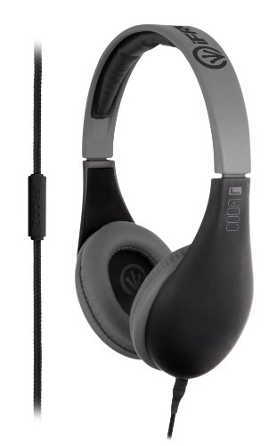 iFrogz Coda Headphones with Microphone - Black