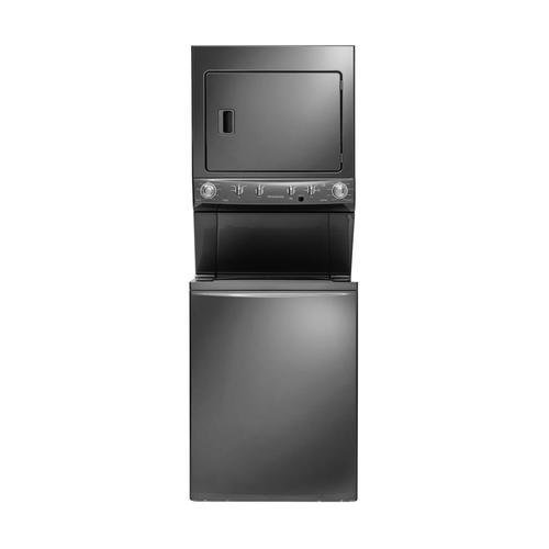 Frigidaire 3.8 Cu. Ft. 9-Cycle Washer and 5.5 Cu. Ft. 9-Cycle Dryer Gas Laundry Center Classic Slate FFLG4033QT