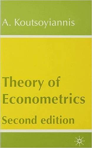 Theory of econometrics amazon a koutsoyiannis books fandeluxe Gallery