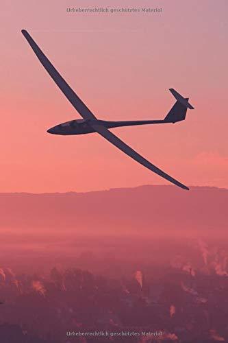 Segelflieger Notizbuch: Geschenkidee Segelfliegen | Format 6x9 | Punkteraster | 150 Seiten por Luftsport Notizbücher