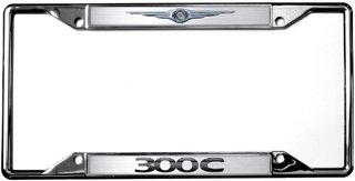 Chrysler Logo / 300 C License Plate Frame (License Frame Chrysler Plate)