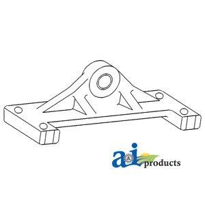 PART NO. A-A59614. Support, Rear Pivot ()